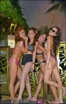 Happy Filipinas at pool party in Manila